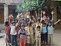 Seva Bharati under priviledged children.JPG