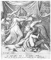 Seven women fighting over a sausage PK-Thysiana 637, PK-P-121.512.tiff