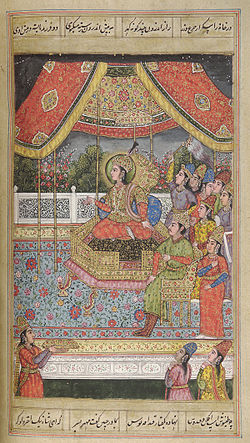 Shahnamah of Firdausi, late 18th century, Mughal, India.jpg