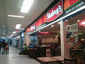 Shakey's Pizza - Image: Shakey's Festival Supermall storefront