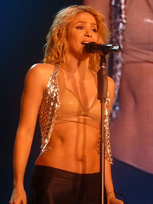 "Sale el Sol - Shakira performing the title-track ""Sale el Sol"" during The Sun Comes Out World Tour"