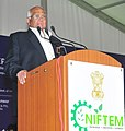 Sharad Pawar addressing at the inauguration of the National Institute of Food Technology Entrepreneurship and Management (NIFTEM), at Kundli, Haryana on November 07, 2012.jpg