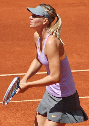 2014 WTA Finals - Maria Sharapova won her second French Open title.