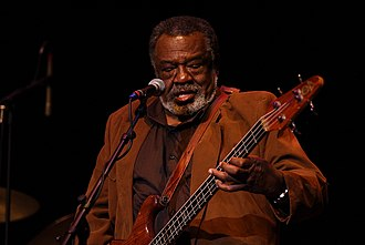 The Holmes Brothers - Sherman Holmes, bassist for the Holmes Brothers