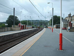 Shipley railway station - The view from platform 3