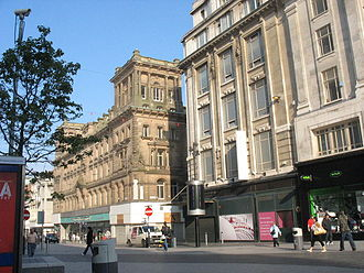 Church Street, Liverpool - Shops in Church Street
