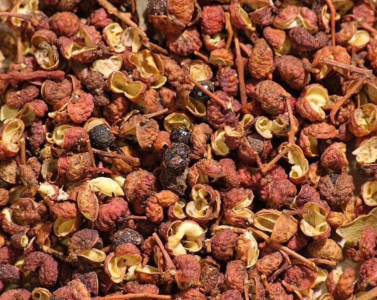 File:Sichuan pepper, including husks, seeds and stems.jpg
