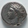 Sicily, Greece, 4th century BC - Tetradrachm- Persephone (obverse) - 1917.980.a - Cleveland Museum of Art.tif
