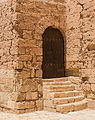 Side door, Torre de l'Homenaje, Alcazaba, Almeria, Spain.jpg