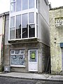 Side entrance, former cinema, Lifford - geograph.org.uk - 1411054.jpg