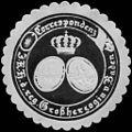 Siegelmarke Correspondenz Seiner Königlichen Hoheit der regierenden Großherzogin von Baden W0215348.jpg