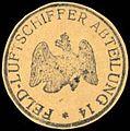 Siegelmarke Feld - Luftschiffer Abteilung 14 W0227613.jpg