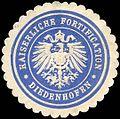 Siegelmarke Kaiserlich Fortification - Diedenhofen W0223861.jpg