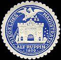 Siegelmarke Siegel des Magistrats Alt Ruppin W0224241.jpg