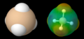 Silan-Molekül und die MEP.png