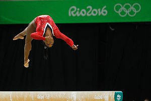Simone Biles - Competing in the 2016 Summer Olympics