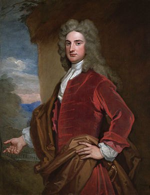 Sir John Rushout, 4th Baronet - Rt. Hon. Sir John Rushout (Godfrey Kneller, 1716)