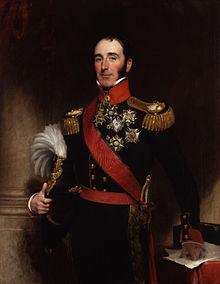 John Conroy (Gemälde von H.W. Pickersgill, 1837) (Quelle: Wikimedia)