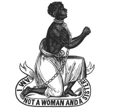 """Am I not a woman and a sister?"" antislavery medallion from the late 18th century"