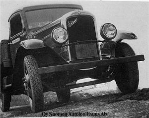 Sisu Auto - S-321 from 1932.