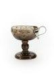 Skål av mörk röktopas gjord på 1600-talet - Skoklosters slott - 92124.tif
