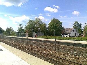 Skalborg station - Skalborg station in 2010