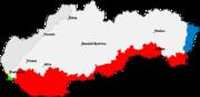Slovakia borderHungary
