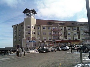 Picture of the Soaring Eagle Lodge in Snowshoe, WV