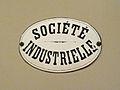 Société industrielle de Mulhouse-Plaque en métal émaillé.jpg