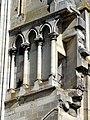 Soissons (02), abbaye Saint-Jean-des-Vignes, abbatiale, nef, triforium côté nord.jpg