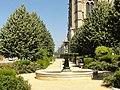 Soissons (02), place Mantoue, fontaine.jpg