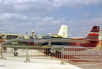 Soko G-2 Galeb - A G-2 Galeb on static display during the 1963 Paris Air Show