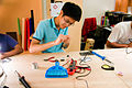 Soldering workshop in the Prototyping Lab, National Design Centre, Singapore - 20141201-06.jpg