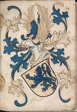 Solmns - Solms - Wapenboek Nassau-Vianden - KB 1900 A 016, folium 29r