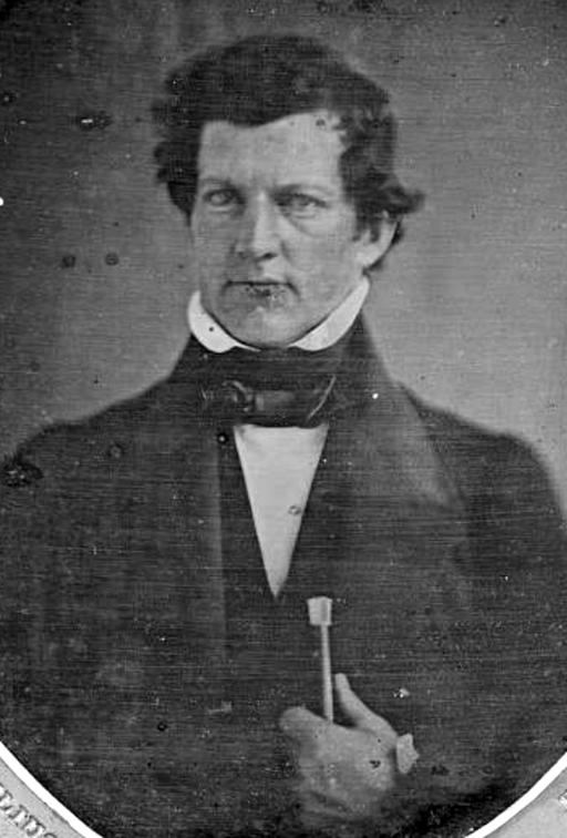 Solomon Andrews circa 1840 by Robert Cornelius