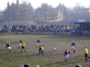 Cambuslang Rangers F.C. - The club's home ground, Somervell Park