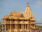 Front view of the present Somnath Temple
