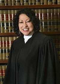 Sonia Sotomayor et son sourire carnassier - image Wikipedia
