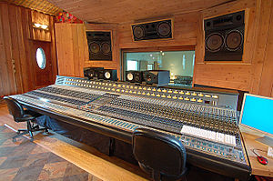 Sonic Ranch - Neve console featuring an original Motown board.