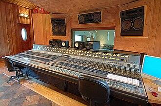 Sonic Ranch - Neve console featuring an original Motown board.