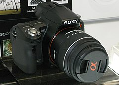 Sony Alpha 55 and 18-55mm zoom lens.jpg