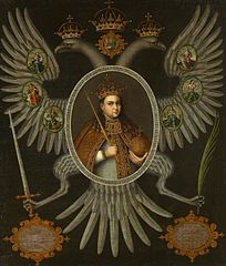 Portrait of Governess Sofya Alexeevna