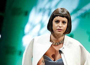 Sophia Amoruso - Amoruso at TechCrunch Disrupt, 2014