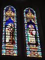 Soustons (Landes) église, vitrail 01.JPG