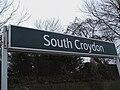 South Croydon stn signage.JPG