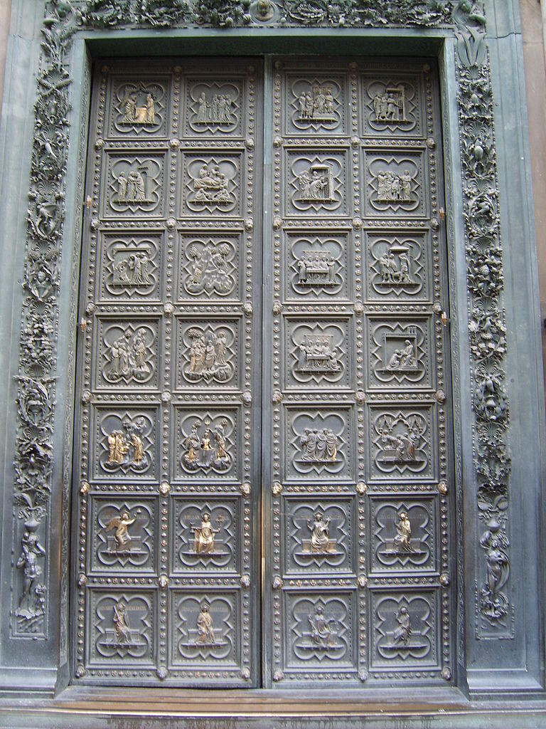 File south doors of the florence baptistry jpg wikimedia - Porta battistero firenze ...