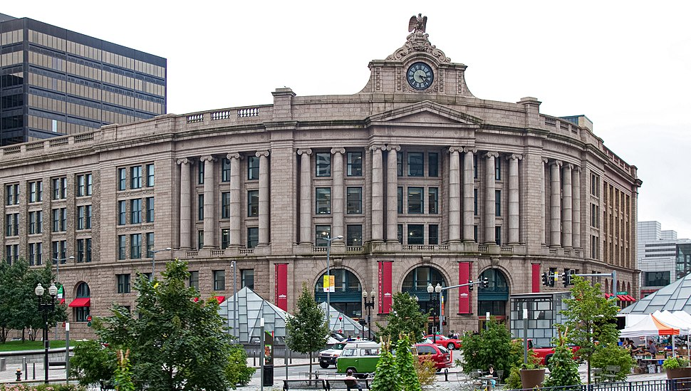 South Station from Dewey Square, September 2011