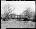 Southwest elevation - Woody Allen Road Bridge, Spanning Oothalooga Creek at County Road 316, Adairsville, Bartow County, GA HAER GA,8-ADVI.V,1-2.tif