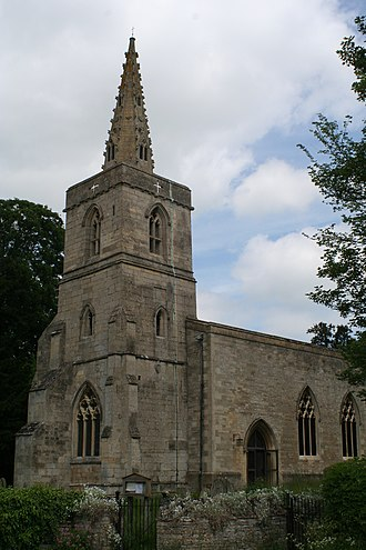 Southwick, Northamptonshire - St Mary's church