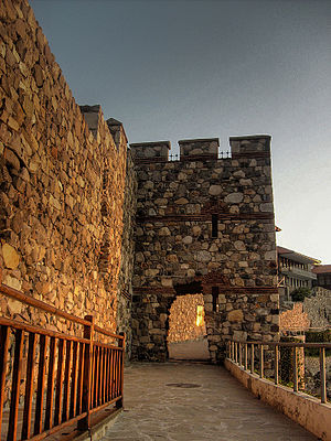 Sozopol - A reconstructed gate part of Sozopol's ancient fortifications